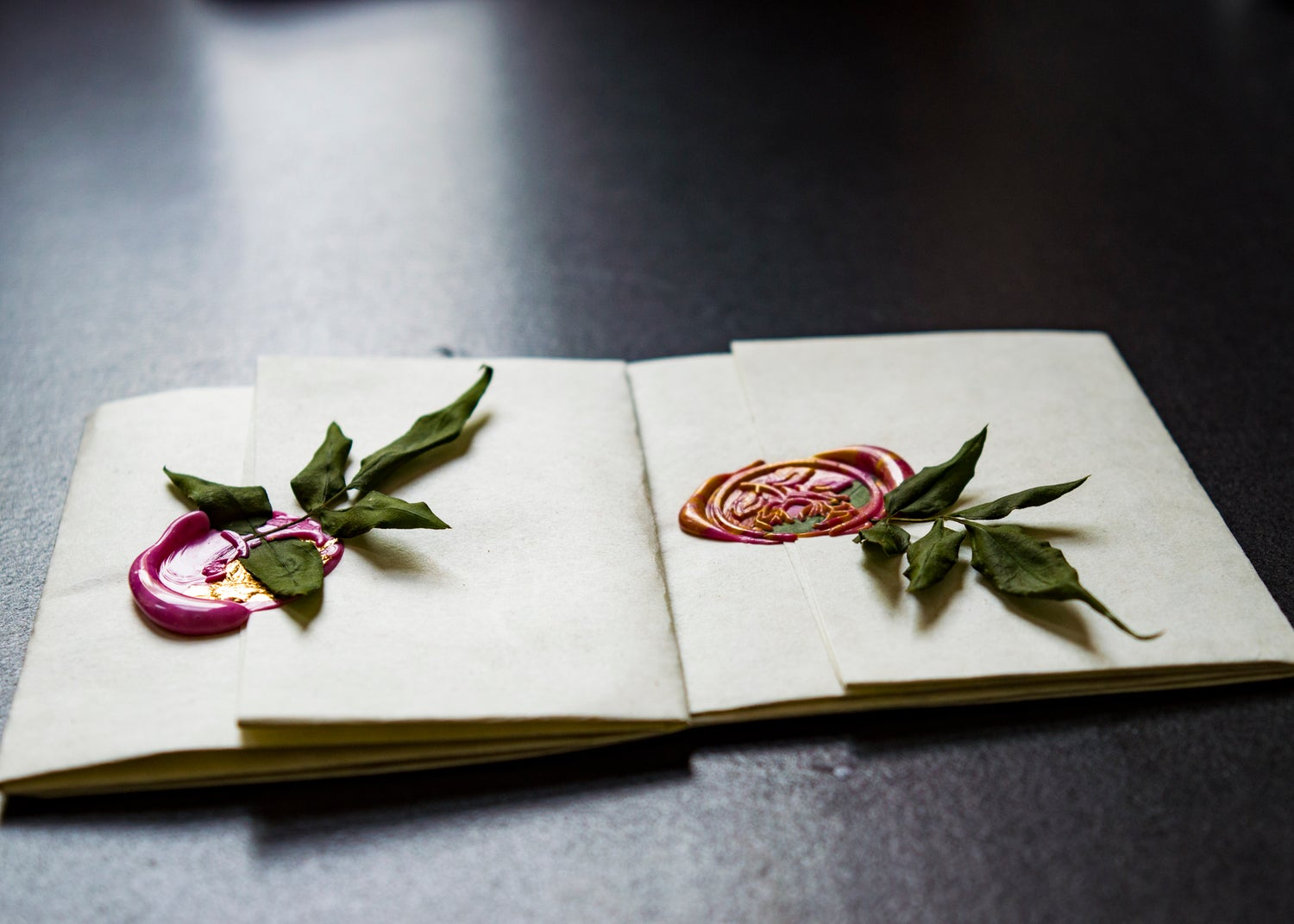 Image of Handwritten Wax Sealed Letters
