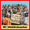 "Womanchester 12""x12"" print"