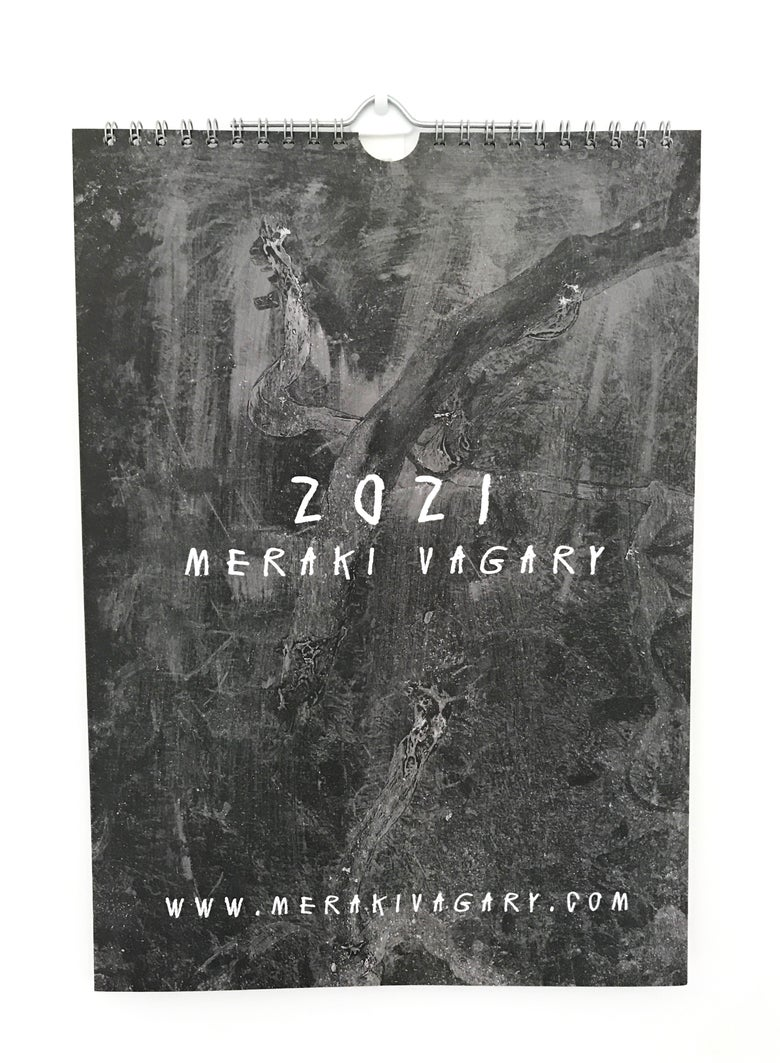 Image of 2021 A4 Wall Calendar