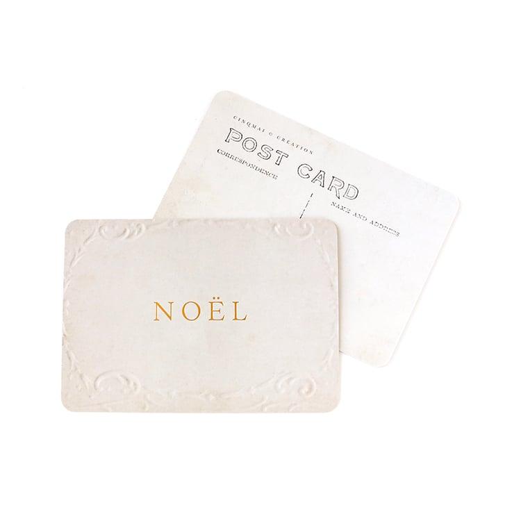Image of Carte Postale NOËL / DORÉ / OLD PAPER