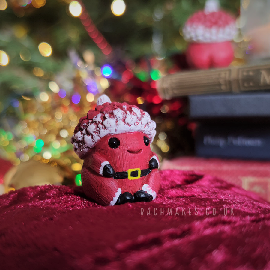 Image of Santa Acorn Baby