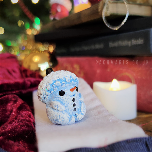 Image of Little Snowman Acorn Baby
