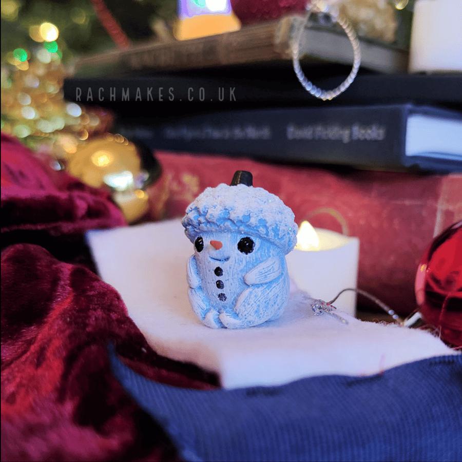 Image of Little Snowman Acorn Baby