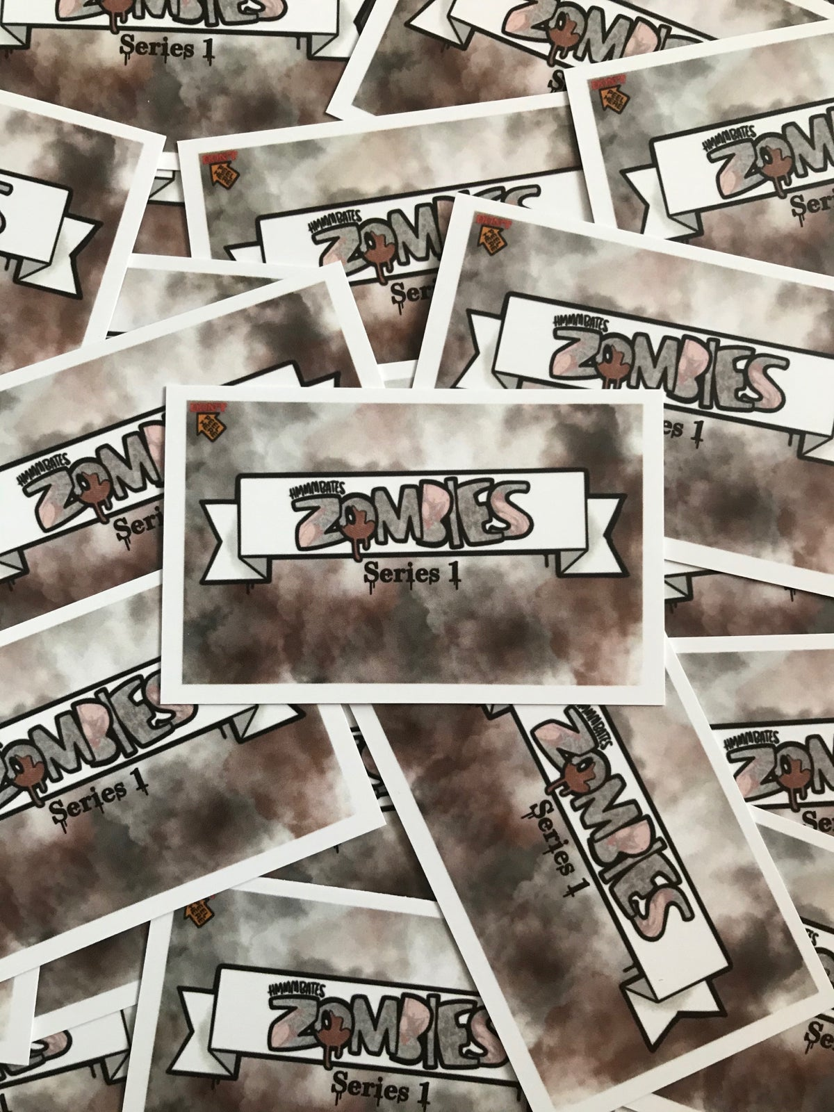 Image of Hmmmbates zombie cards series 1