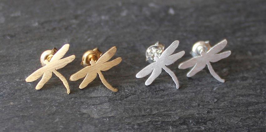 Image of pendientes libélulas