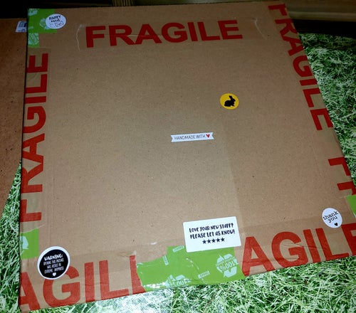 Image of Pizza forage box (in an actual pizza box!!)