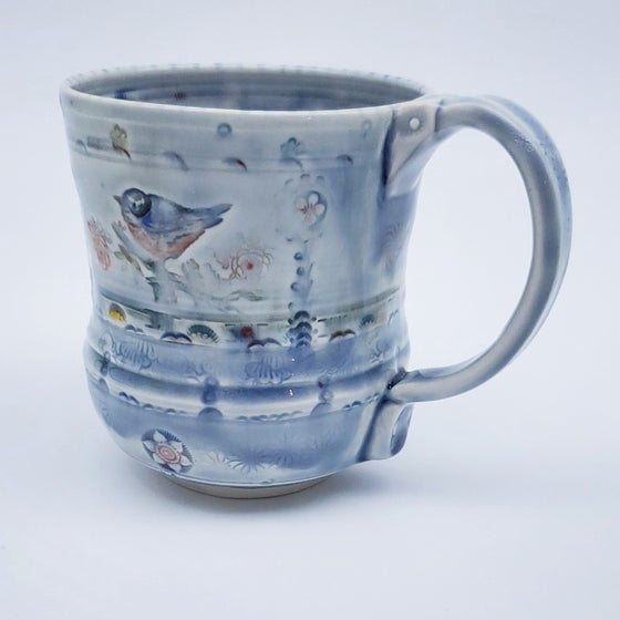 Image of Songbird Porcelain Mug