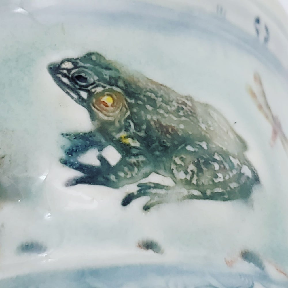 Image of Seaturtle and Frog Aquatic Porcelain Mug