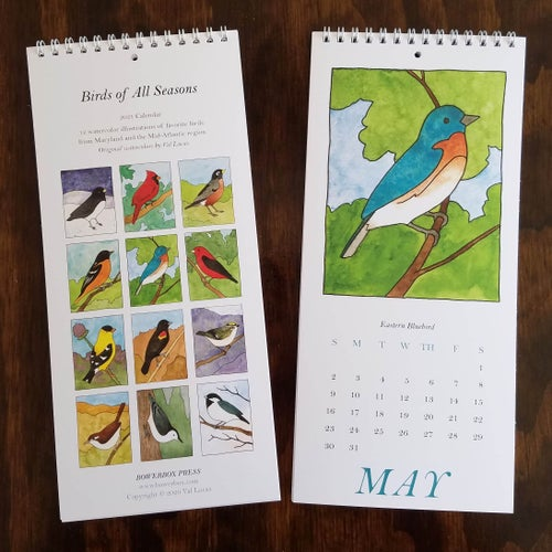 Image of 2021 Birds of All Seasons Calendar