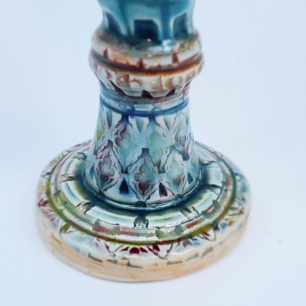 Image of Venetian Goddess Porcelain Goblet