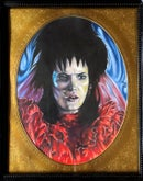 "Image 3 of ""Lydia Deetz II"" Original Colored Pencil Illustration"
