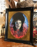 "Image 2 of ""Lydia Deetz II"" Original Colored Pencil Illustration"