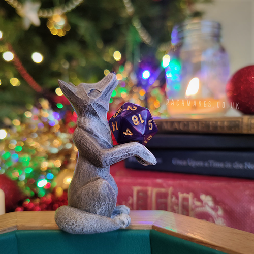 Image of Wolf Dice Guardian