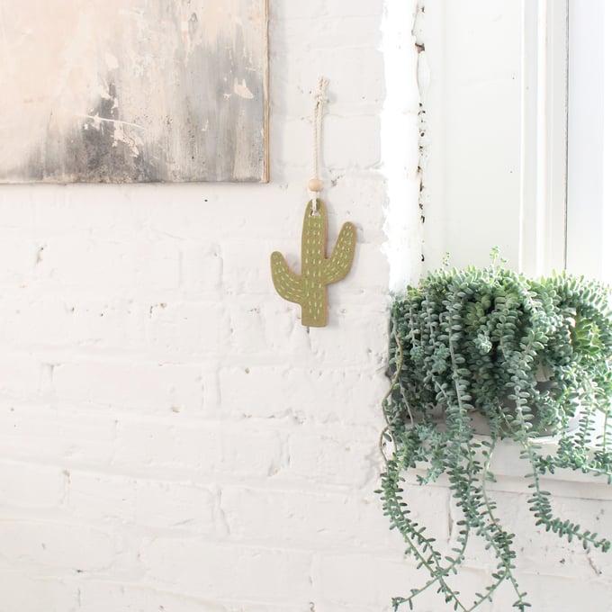 Image of Cactus Ornament - Janelle Gramling