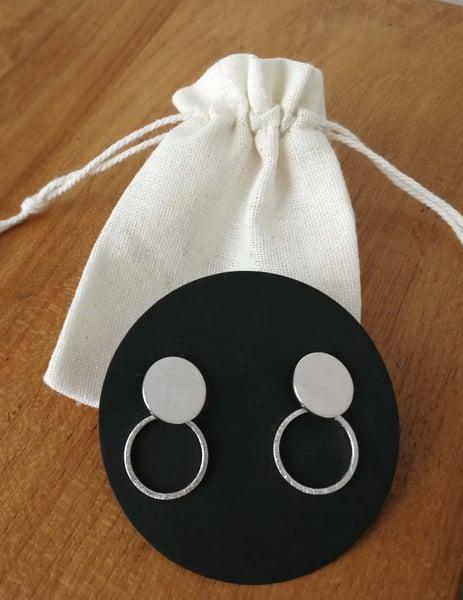 Image of Pendiente 2 círculos