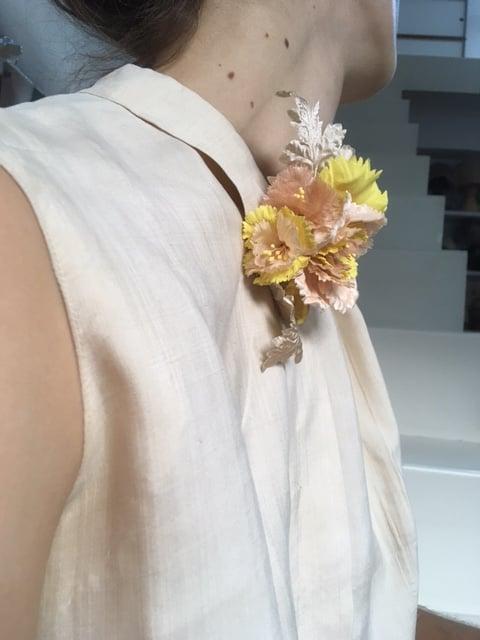 Image of  Bouquet d'oeillets rares- Bouquet of rare carnations