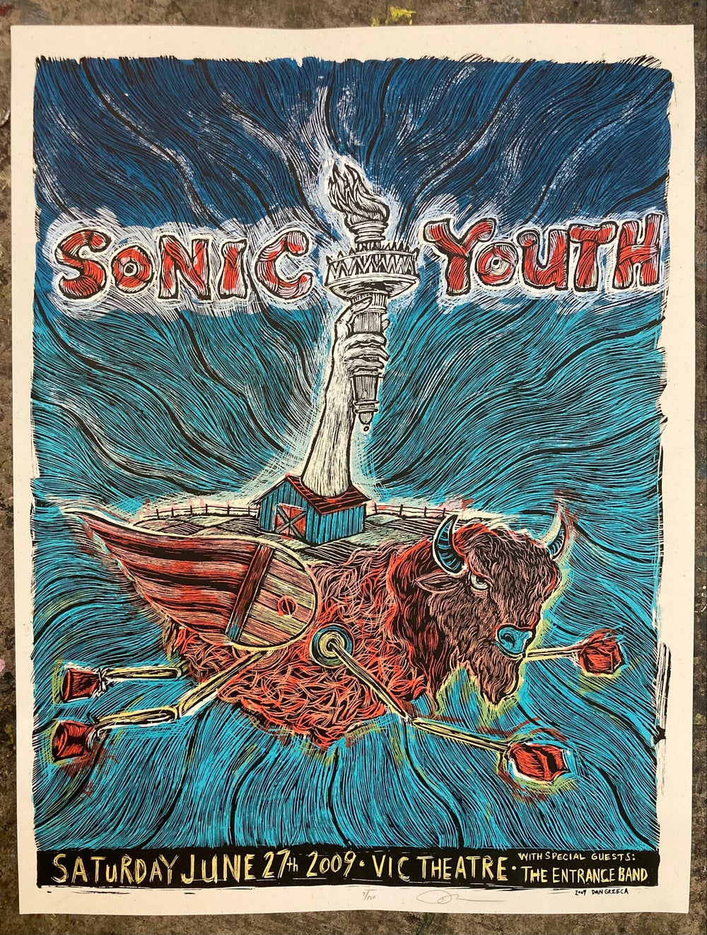 Sonic Youth Chicago 2009