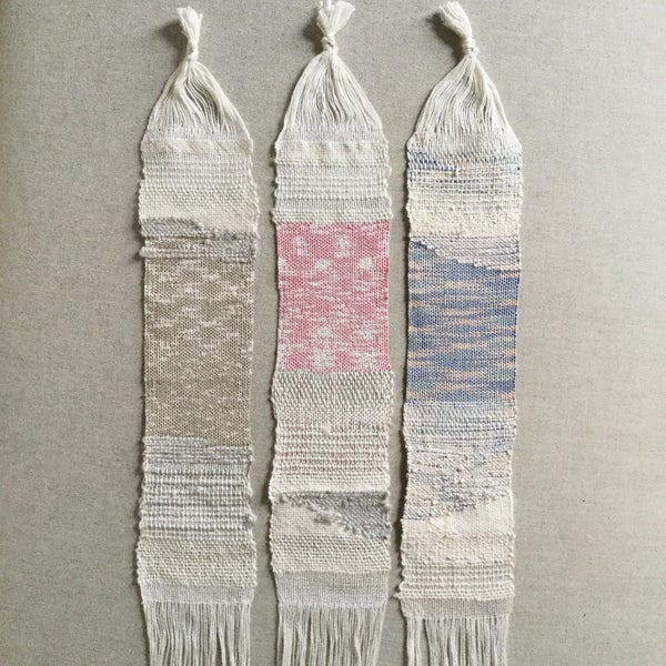 Image of Recycled Silk Mini Wall Hangings