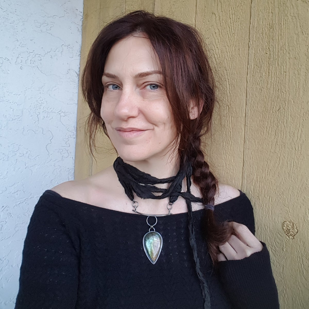 Image of Passage Silk Necklace