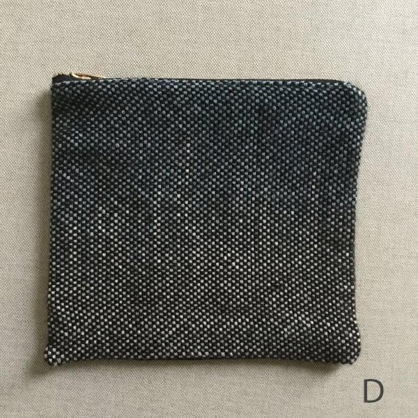 Image of Zipper Pouch - Indigo