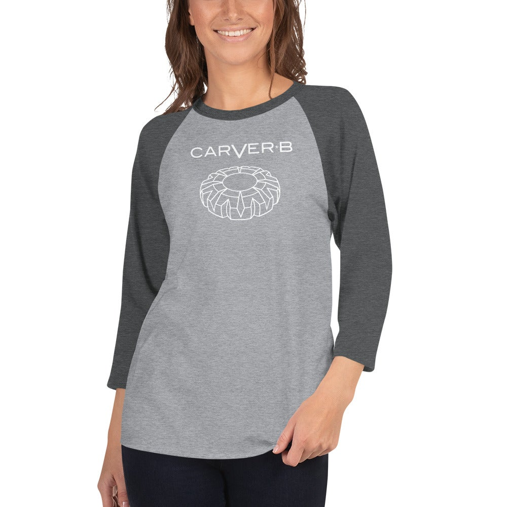 Image of Unisex - 3/4 sleeve raglan shirt