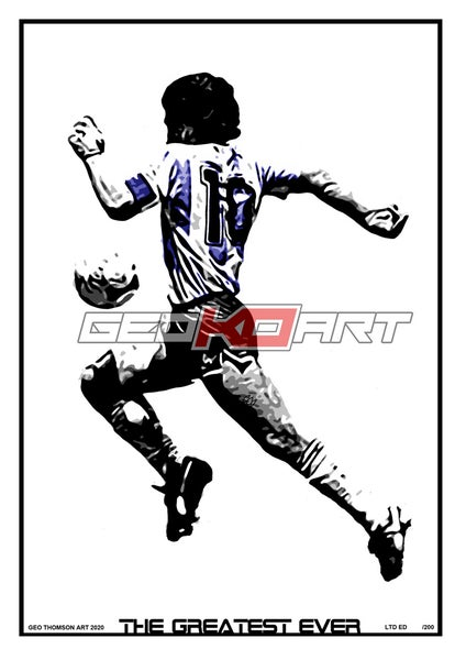 Image of DIEGO MARADONA THE GREATEST EVER