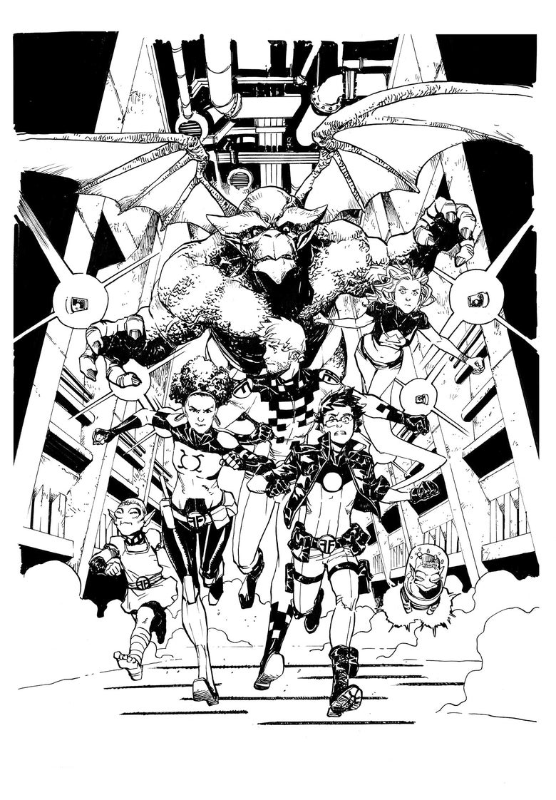 Image of Future Foundation #1 variant cover