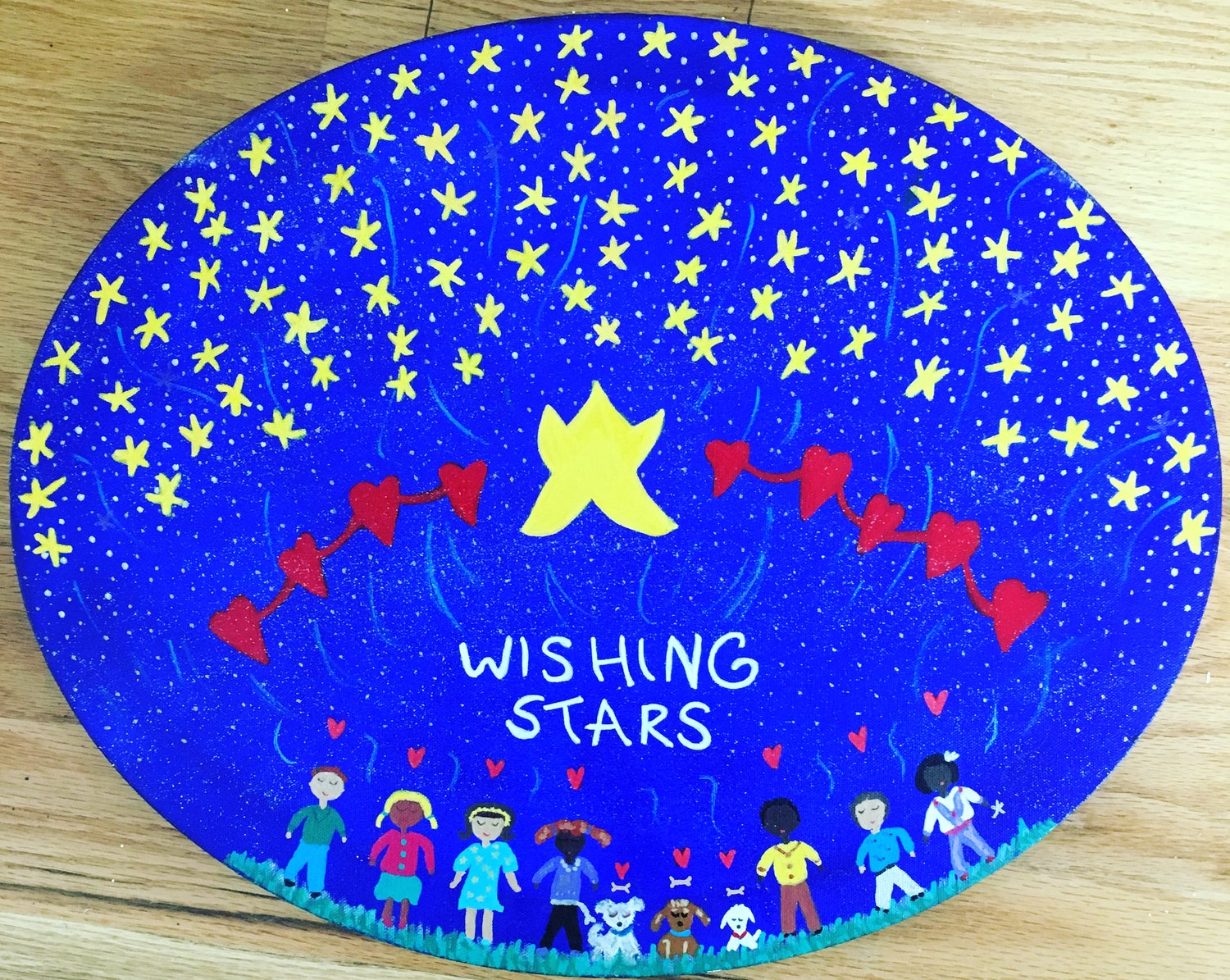 WISHING STARS HEARTS