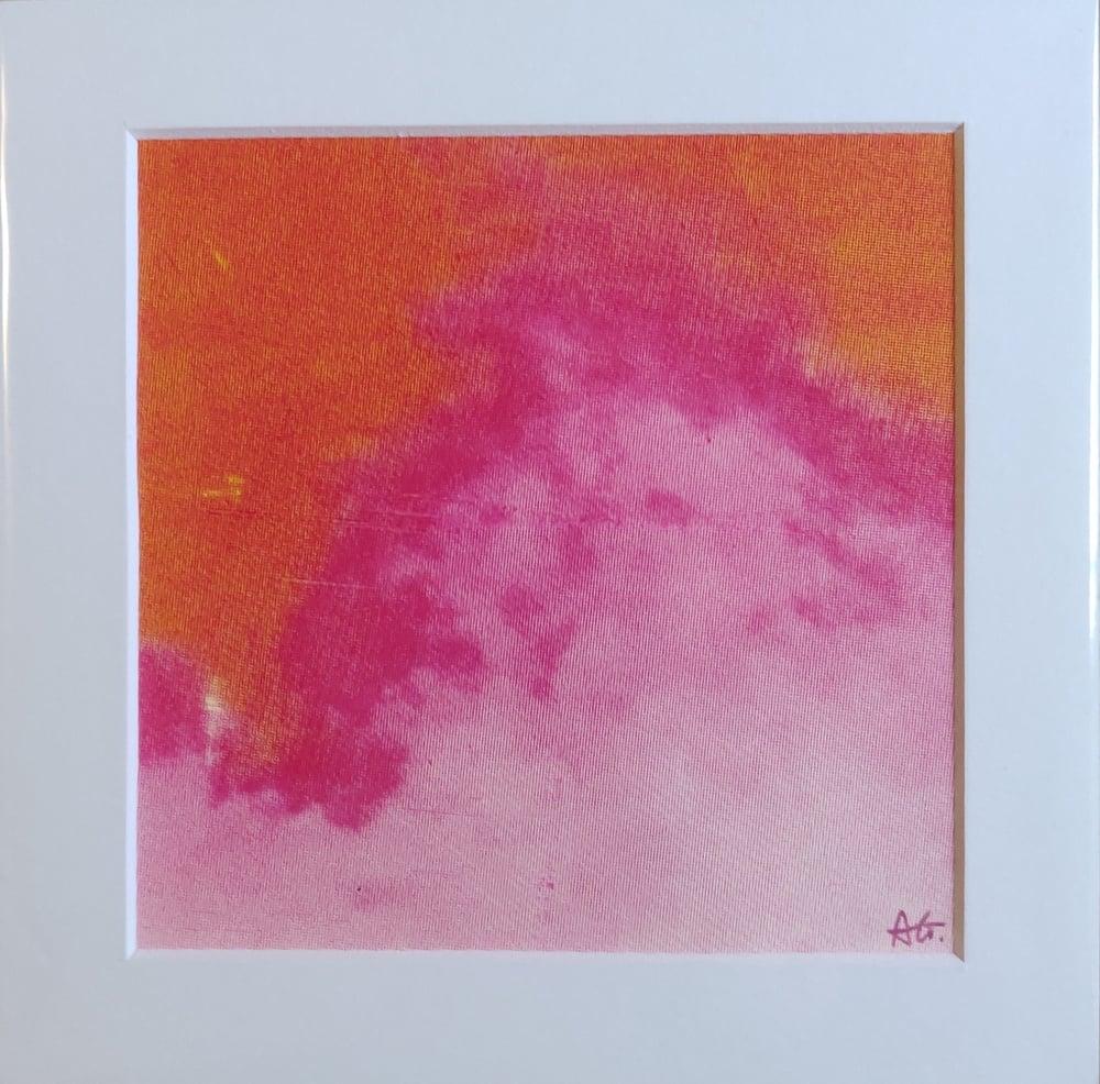 Image of Mini Flow, Pink Clouds III