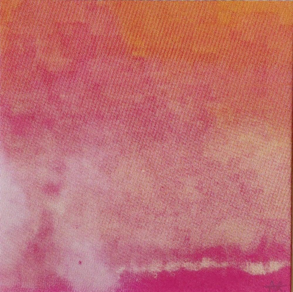 Image of Mini Flow, Pink Clouds II