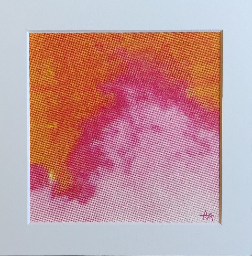 Image of Mini Flow, Pink Clouds I