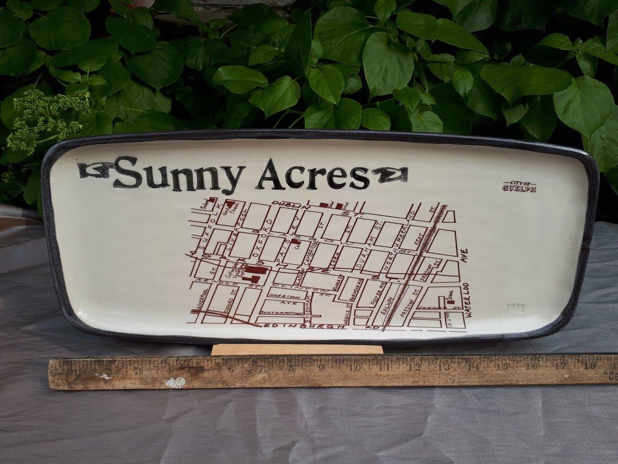 Image of Vintage Neighbourhood Inspired Large Platter PICK UP ONLY