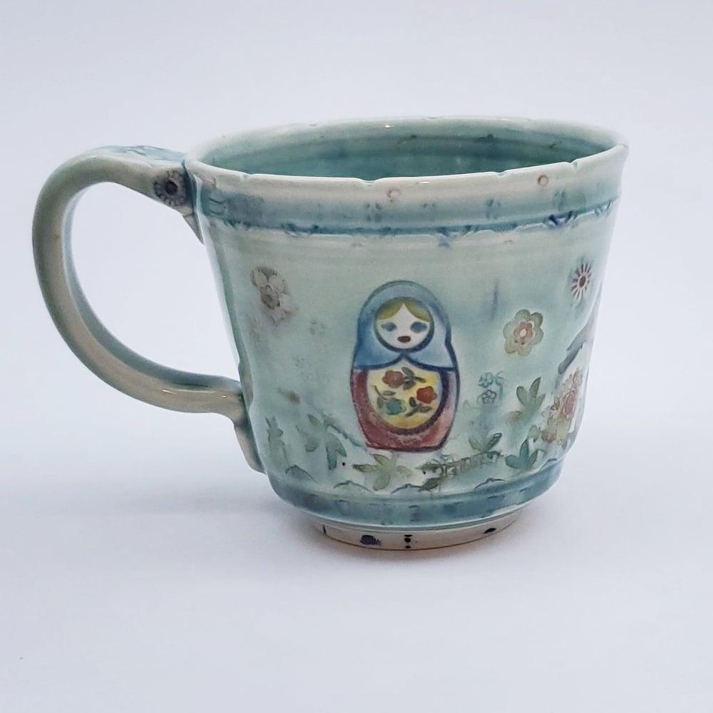 Image of Matroska Nest Porcelain Nest Cup