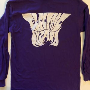 Image of Electric Wizard  Purple Longsleeve T shirt