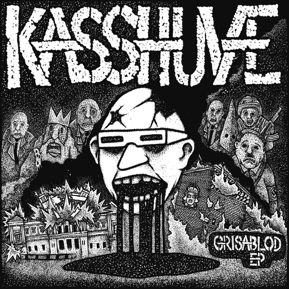 "Image of KASSHUVE ""Grisablod E.P."" 7"" E.P."