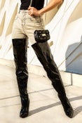 Image of Bianco Thigh High Boots