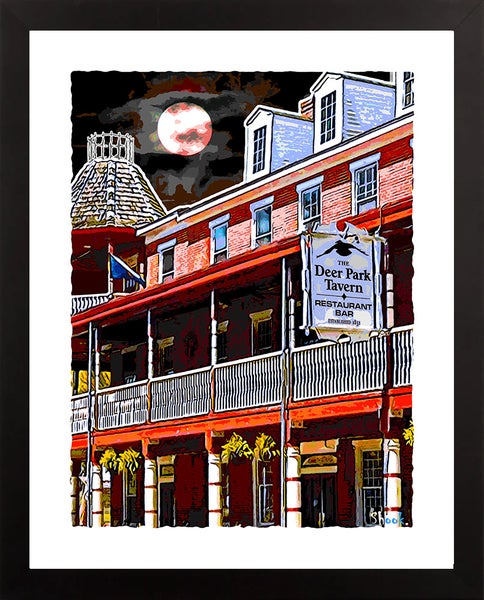 "Image of Deer Park Newark DE Giclée Art Print - 11"" x 14"""
