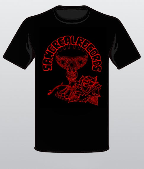 Image of SANGREAL RECORDS T-Shirt