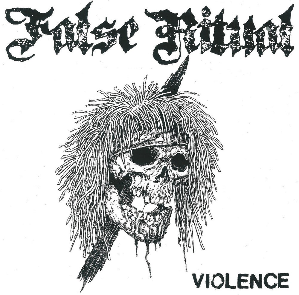 "Image of FALSE RITUAL - Violence 7"" flexi"