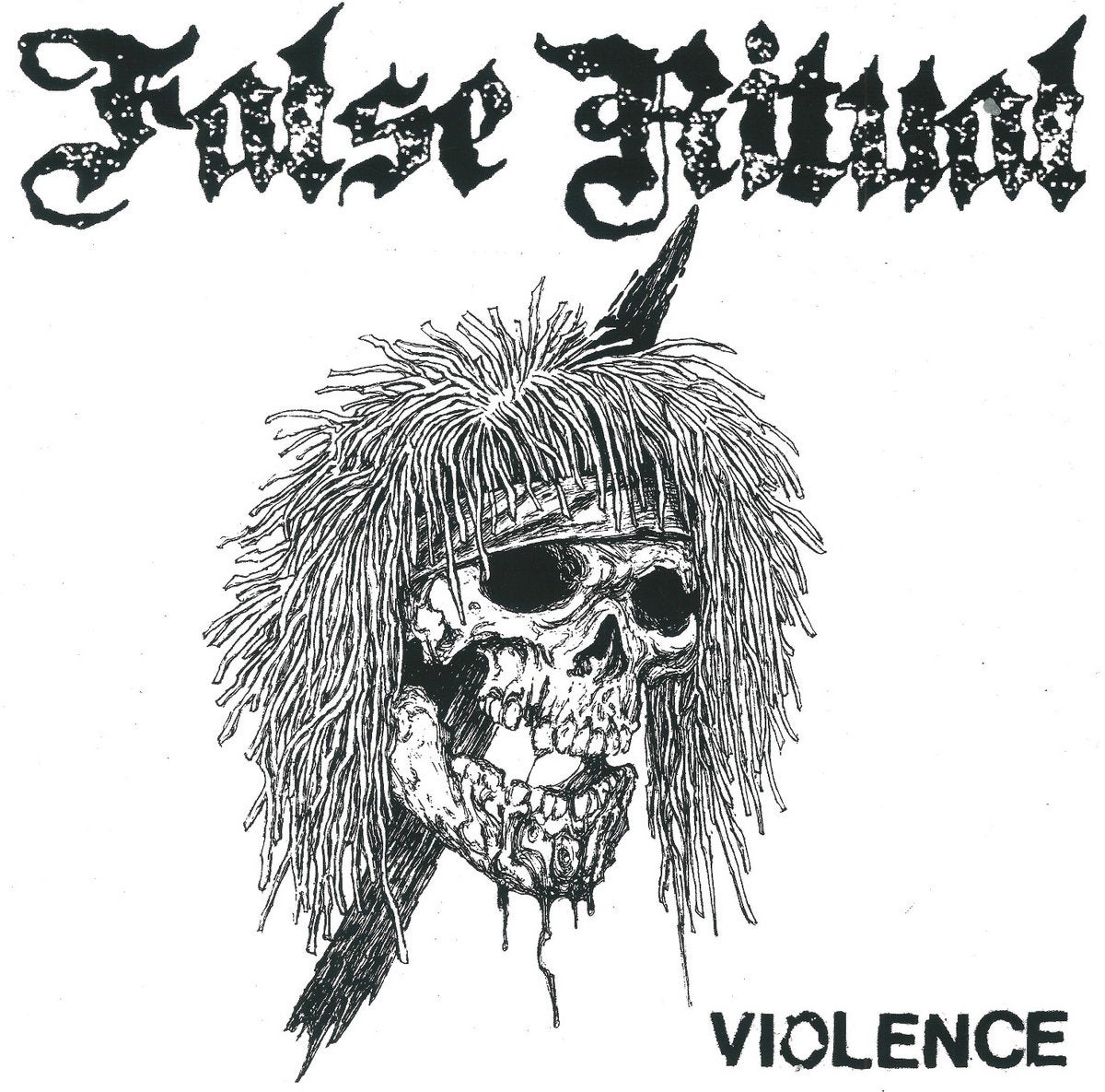 "Image of FALSE RITUAL - Violence 7"" flexi"