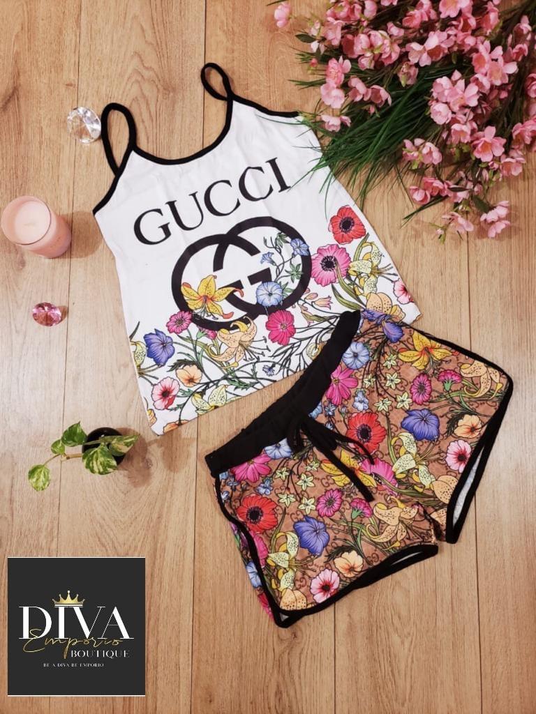 Image of Pijama GG Flores