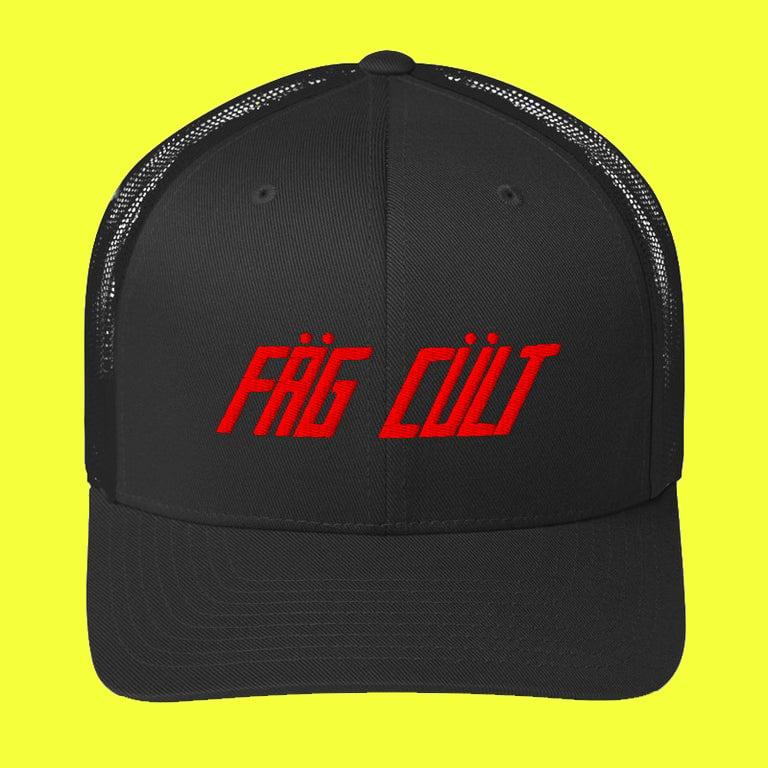 Image of FAG CULT TRUCKER CAP