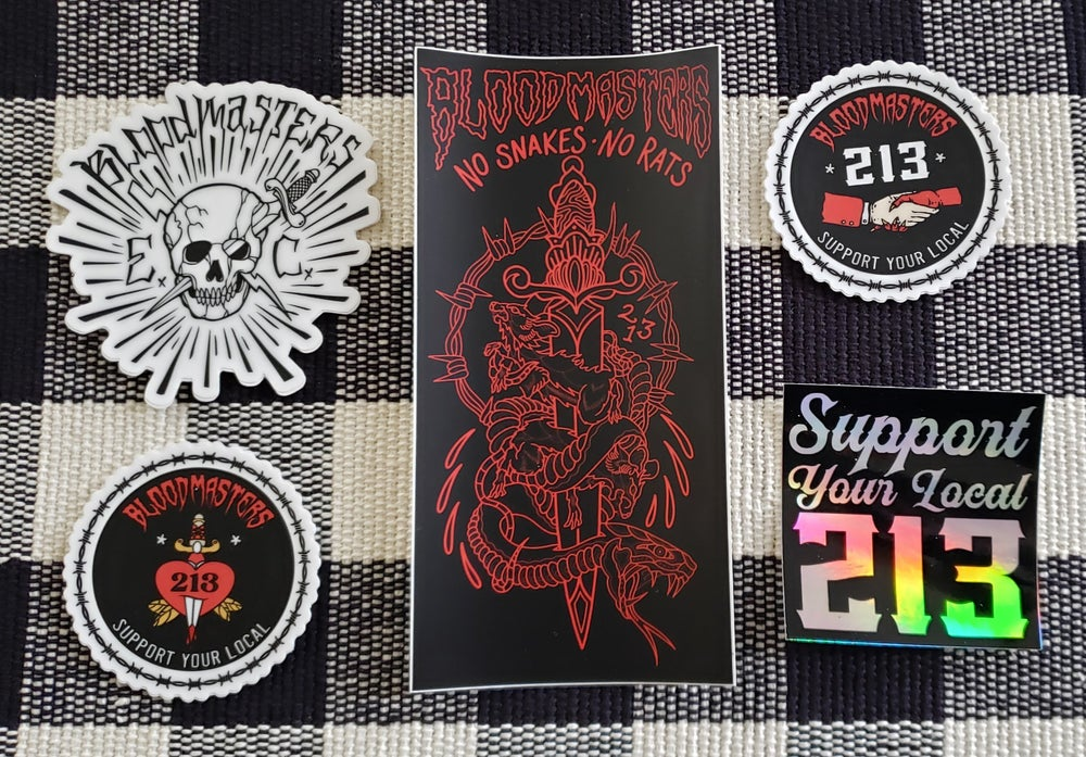 Image of BloodMasters Stickers