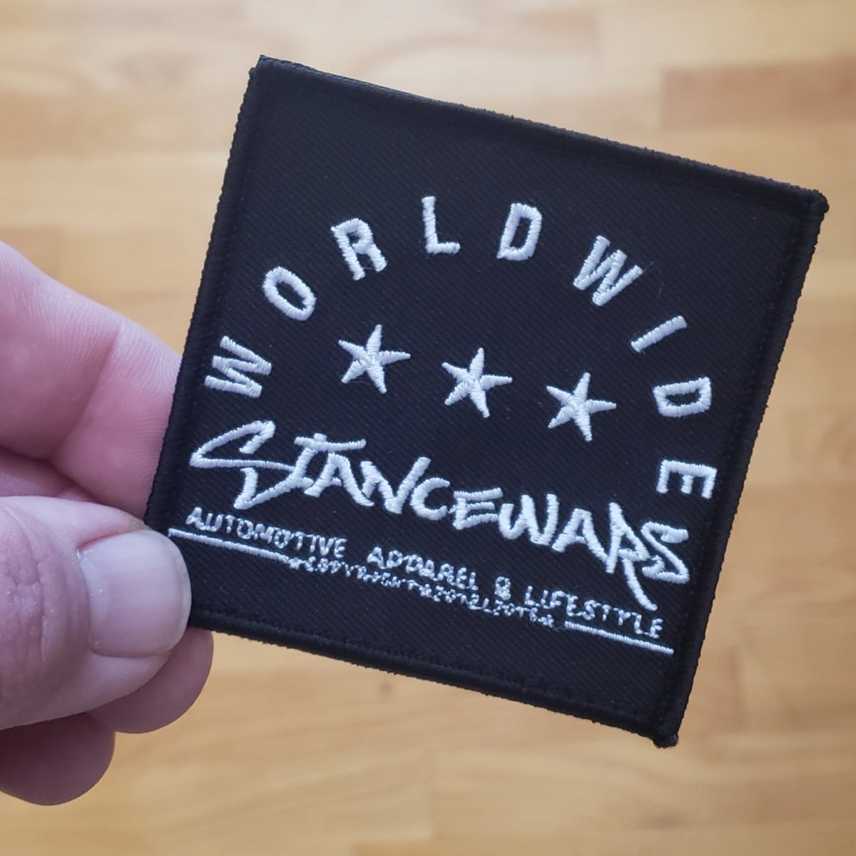 Image of Worldwide Logo Patch