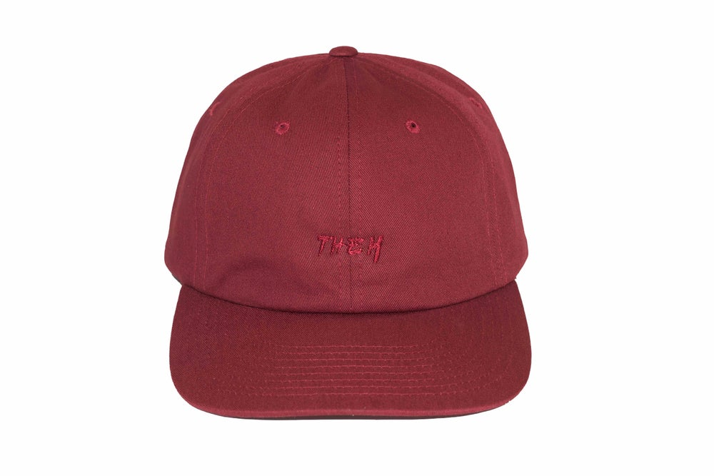 Image of OG Unstructured Cap - Maroon