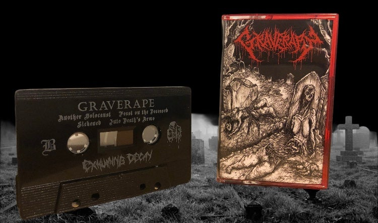 Image of Graverape - Exhuming Decay