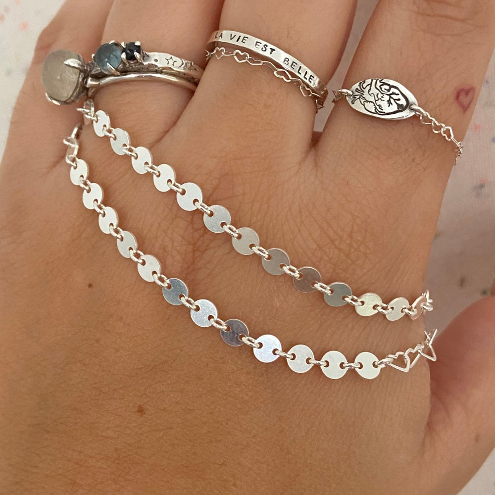 Image of circle chain bracelet
