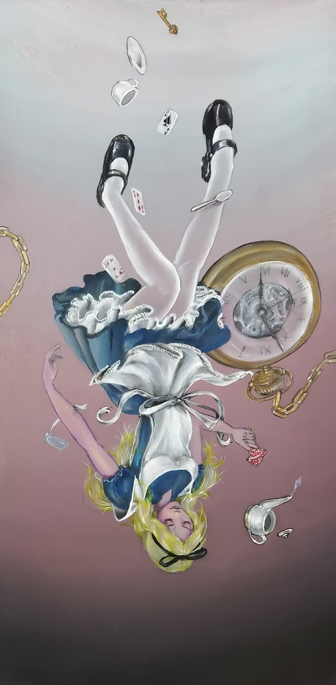 """Image of Limited Edition """"Follow the White Rabbit"""" Print"""