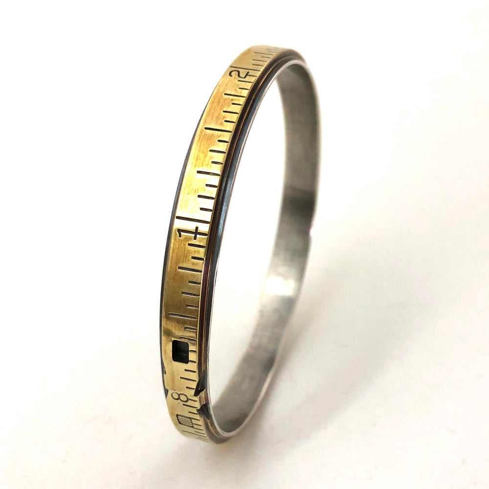 Image of Extension rule and sterling bangle