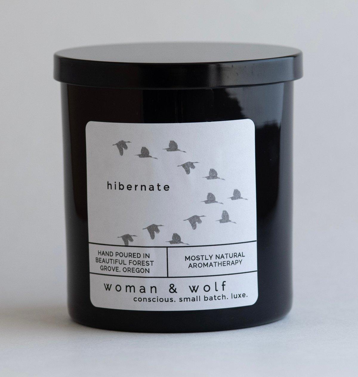 Image of HIBERNATE soy candle